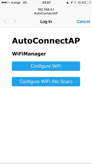 WiFiManager